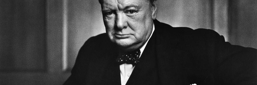 """Winston Churchill – """"Eu me Contento com o Melhor"""""""