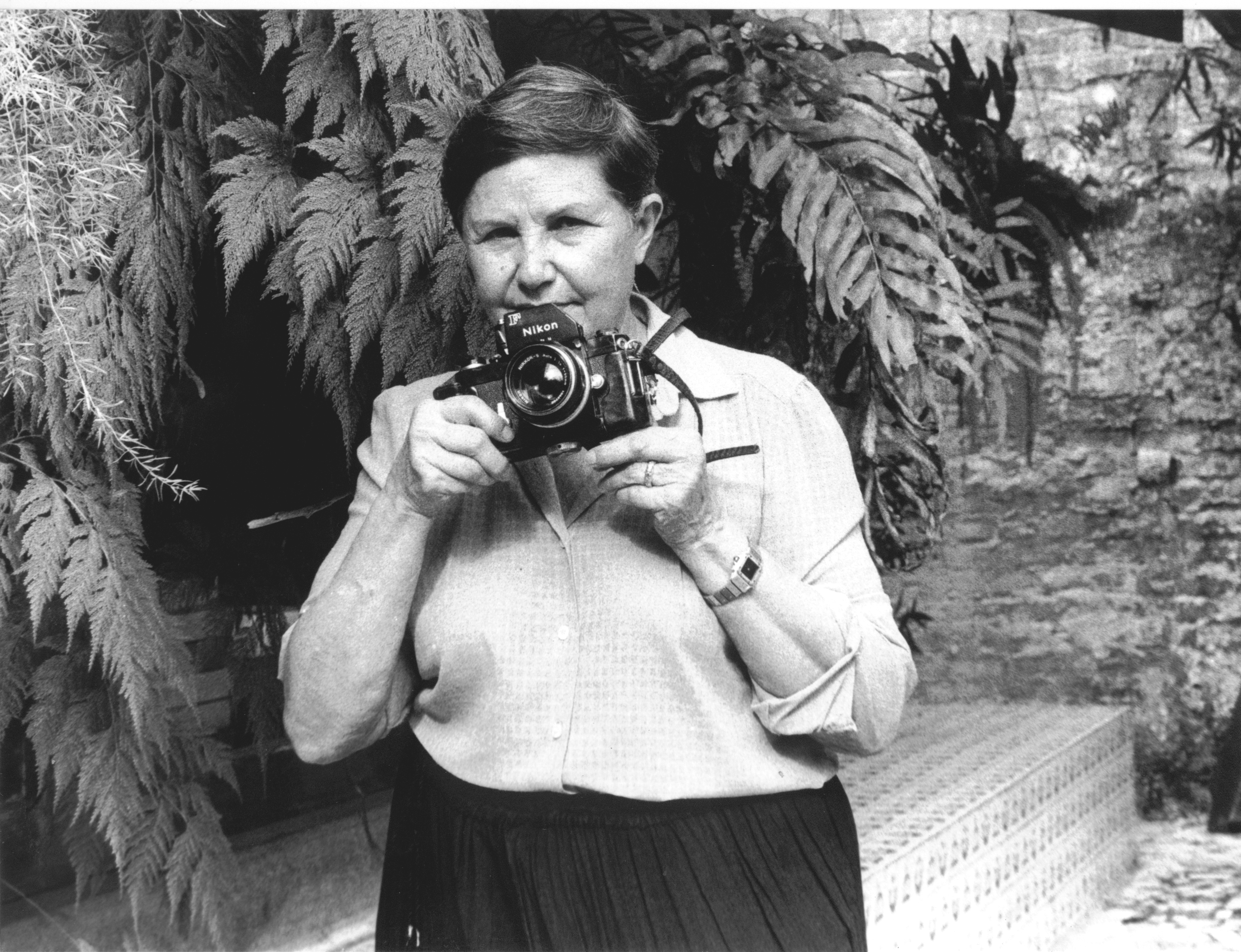 Zélia Gattai na Casa do Rio Vermelho, 1992. (4)
